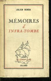 Memoires D Infra Tombe. - Couverture - Format classique