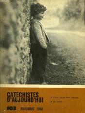 Catechistes D'Aujourd'Hui, N° 103, Nov. 1968 - Couverture - Format classique
