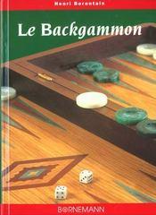 Le Backgammon : Strategies Et Tactiques - Intérieur - Format classique