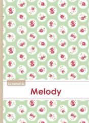 Carnet Melody Lignes,96p,A5 Rosesteatime - Couverture - Format classique