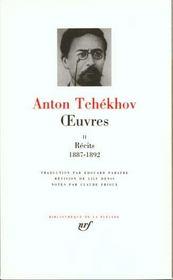 Oeuvres t.2 ; récits 1887-1892 - Intérieur - Format classique