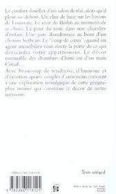 Petite Geographie Intime - 4ème de couverture - Format classique
