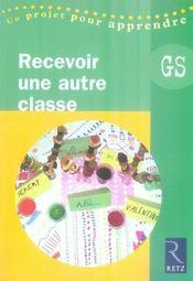 Recevoir une autre classe ; gs - Intérieur - Format classique