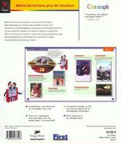 Photographie Numerique Et Retouche D'Images Avec Photoshop Elements C'Est Simple ; Edition Gold - 4ème de couverture - Format classique