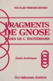 Fragments de gnose - Couverture - Format classique