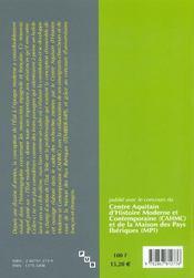 Adhesion et resistances a l'etat en france et en espagne, 1620-1660 - 4ème de couverture - Format classique