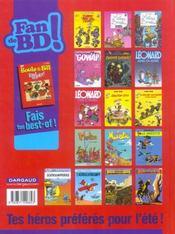 Boule & Bill T.26 ; 'faut rigoler ! - 4ème de couverture - Format classique