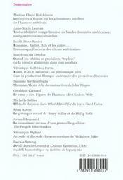 Humoresques T.15 ; L'Humour Américain - 4ème de couverture - Format classique