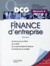telecharger Objectif DCG – finance d'entreprise (edition 2010/2011) livre PDF/ePUB en ligne gratuit