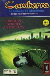 Camberra De Deodat De Montbrun. N° 13. Jugement Dernier A Brooklyn. - Couverture - Format classique