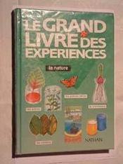 Grand Livre Experience Nature - Intérieur - Format classique
