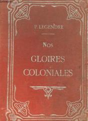 Nos Gloires Coloniales - Couverture - Format classique