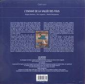 L'Enfant De La Vallee Des Fous - 4ème de couverture - Format classique