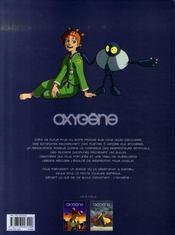 Oxygène t.2 ; poursuite - 4ème de couverture - Format classique