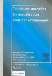 Tendances nouvelles en modelisation pour l'environnement cnrs - Couverture - Format classique