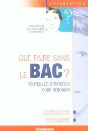 Que faire sans le bac ? edition 2006 - Intérieur - Format classique