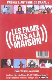 Tournez Votre Film Pour 500 Euros - 4ème de couverture - Format classique