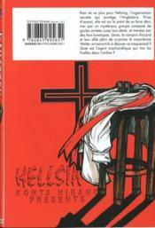 Hellsing t.2 - 4ème de couverture - Format classique