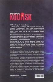 Il faut couler le koursk - 4ème de couverture - Format classique