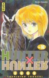 Hunter X Hunter T18 - Couverture - Format classique