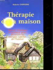 Therapie De La Maison - Couverture - Format classique