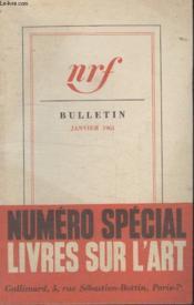 Bulletin Janvier 1961 N°156. - Couverture - Format classique