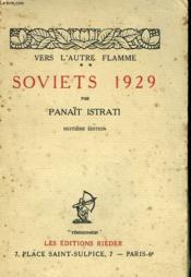 Vers L'Autre Flamme Ii. Soviets 1929. - Couverture - Format classique
