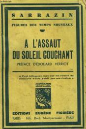 Figures Des Temps Nouveaux. A L'Assaur Du Soleil Couchant. - Couverture - Format classique
