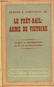 Le Pret-Bail, Arme De Victoire - Couverture - Format classique