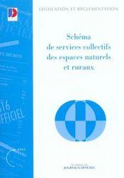 Schema de services collectifs des espaces naturels et ruraux - Intérieur - Format classique