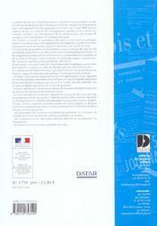 Schema de services collectifs des espaces naturels et ruraux - 4ème de couverture - Format classique