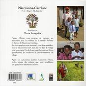 Niarovana-Caroline ; un village à Madagascar - 4ème de couverture - Format classique
