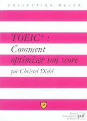 Toeic : comment optimiser son score - Intérieur - Format classique