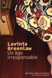 Un âge irresponsable - Intérieur - Format classique