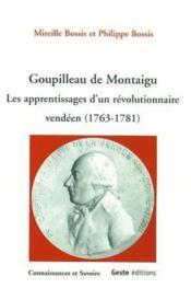 Goupilleau De Montaigu - Couverture - Format classique