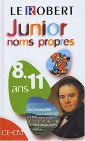 Junior Noms Propres - Intérieur - Format classique