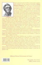 Oeuvres romanesques completes t.1 ; histoire de pendennis - 4ème de couverture - Format classique