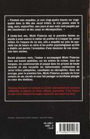 Micki Pistorius ; Une Femme Sur La Trace Des Serial Killers - 4ème de couverture - Format classique