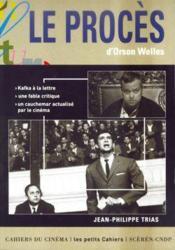 Le proces d'Orson Welles - Couverture - Format classique