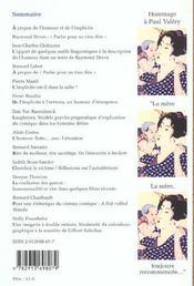 Humoresques N.17 ; L'Humour Et L'Implicite ; Hommage A Raymond Devos - 4ème de couverture - Format classique
