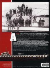Les U-Boote du kaiser - 4ème de couverture - Format classique