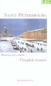 Saint-Pétersbourg - Couverture - Format classique