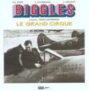 Biggles - grand cirque (le) + les geants du ciel - Couverture - Format classique