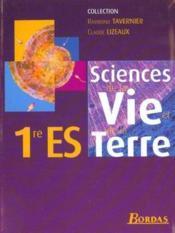 Svt 1re es tavernier 2001 - Couverture - Format classique
