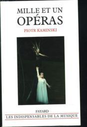 Mille et un operas - Couverture - Format classique