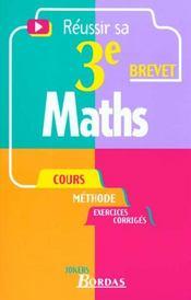 Maths 3e - Intérieur - Format classique
