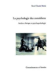 La psychologie des comédiens - Couverture - Format classique