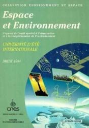 Espace et environnement - Couverture - Format classique