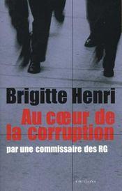 Au coeur de la corruption par une commissaire des RG - Intérieur - Format classique