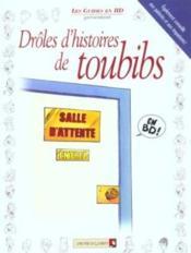 Drôles d'histoires de toubibs - Couverture - Format classique